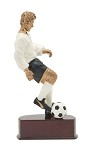 SOCCER ACTION COLOR RESIN 8 1/4
