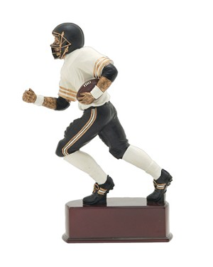 FOOTBALL ACTION COLOR RESIN 8""
