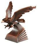 BRONZE RESIN EAGLE 10