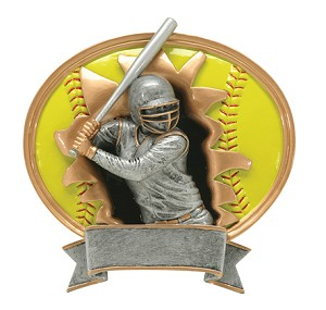 SOFTBALL SPORTS BLASTER RESIN 7""