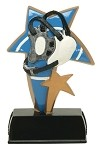 WRESTLING RESIN SPORT STAR