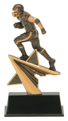 FOOTBALL STAR POWER RESIN AWARD