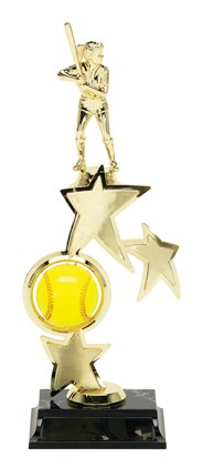 SOFTBALL SPINNER TROPHY