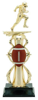 FOOTBALL WREATH TROPHY
