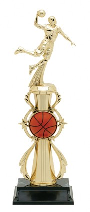 BASKETBALL WREATH TROPHY