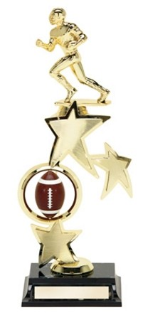 FOOTBALL SPINNER TROPHY