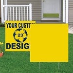 Custom Corrugated Plastic Sign