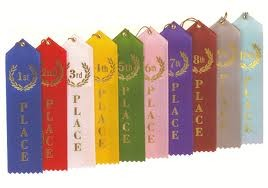 "2"" x 8"" Place Ribbons"