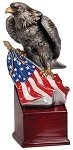 Eagle & Flag Resin