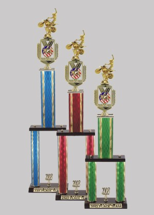 2 Post Recreational Sports Trophy